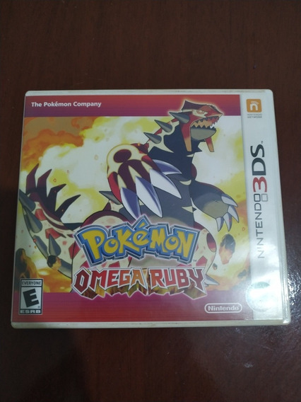 Pokémon Omega Ruby 3ds Usado