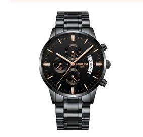 Relógio Masculino Nibosi Elegante Original Analógico 2135