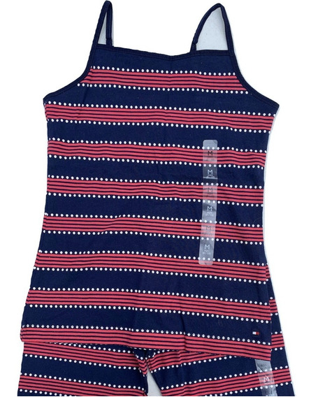 Tommy Hilfiger Conjunto Leggins Y Camiseta 100% Original