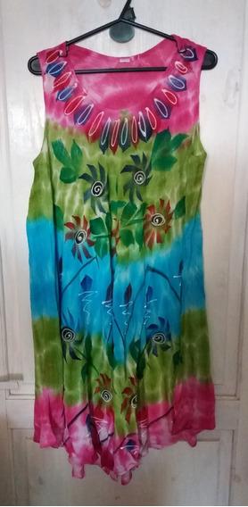 Vestido Solero Hindú Talle Grande
