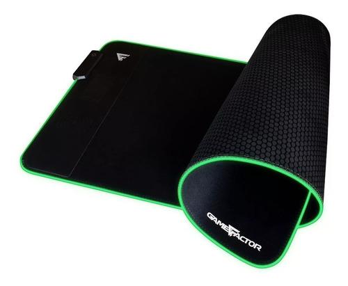 Mouse Pad Gamer Factor Mpg600 Rgb Xl Carga Inalambrica 10w