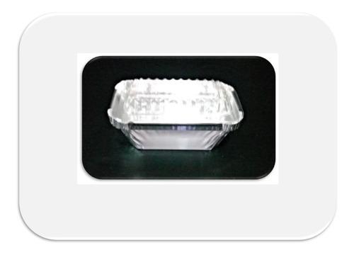 10 Moldes De Aluminio 4 Onzas + Tapa Cristal
