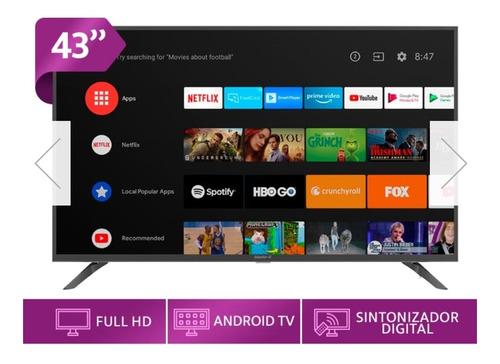 Imagen 1 de 6 de Tv Smartv 43 Pulgadas Master G Android