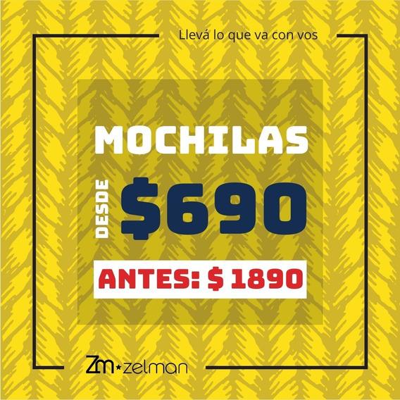 Mochilas $690 - Maravilla De Descuentos!