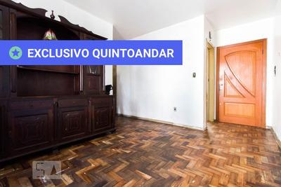 Apartamento No 1º Andar Com 2 Dormitórios E 1 Garagem - Id: 892906554 - 206554
