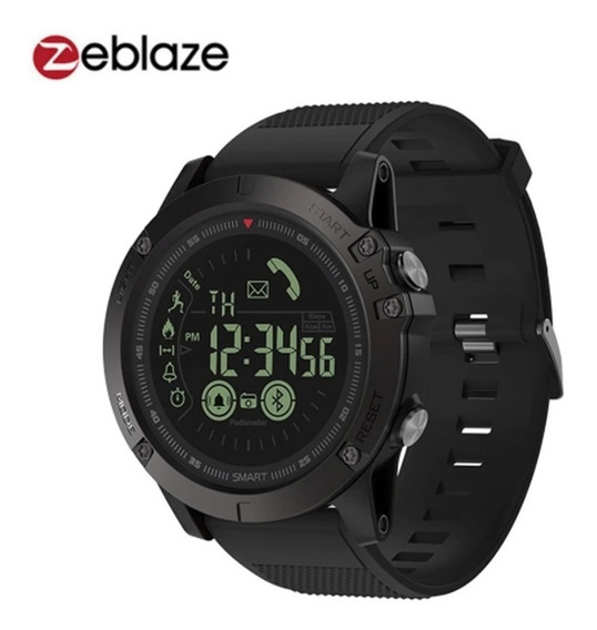 Zeblaze Vibe 3 Smart Watch/ Ios Android - Preto