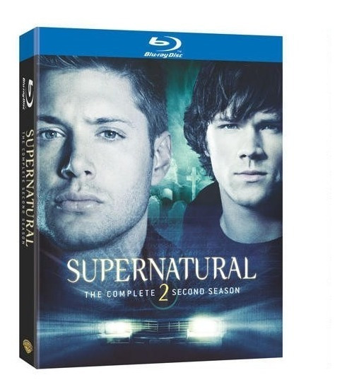 Blu-ray Supernatural - 2ª Segunda Temporada Dublado C/ Luva
