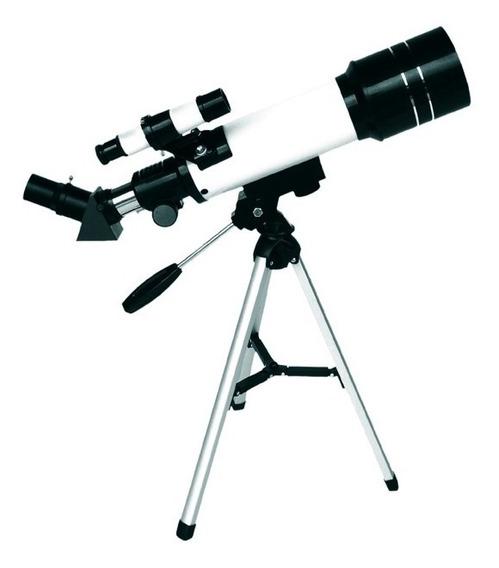 Telescópio Astronômico Profissional Lente 70mm F40070m Csr