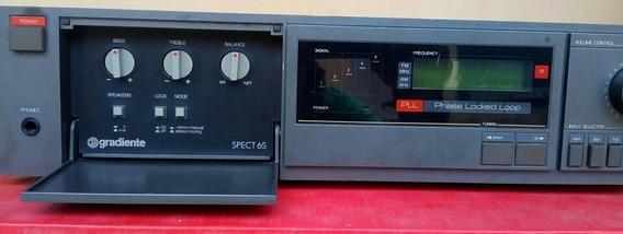 Receiver Gradiente Spect 65 - Ótimo Amplificador