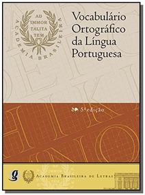 Vocabulario Ortografico Da Lingua Portuguesa- Capa