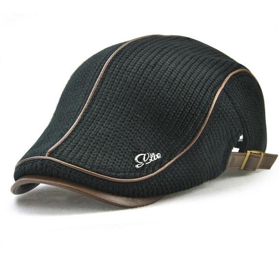 Gorra O Boina Tejida Tipo Gatsby, Golf Ajustable 3 Colores