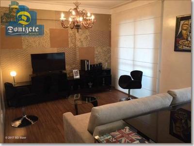 Apartamento Com 3 Dormitórios À Venda, 114 M² Por R$ 780.000 - Centro - Santo André/sp - Ap5239