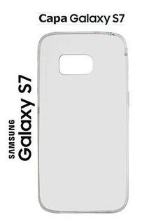 10 Capas + 10 Peliculas De Vidro P/ Samsung Galaxy S7 G930