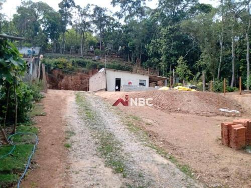 Terreno À Venda, 1000 M² Por R$ 320.000,00 - Jardim São Jorge - Arujá/sp - Te0077