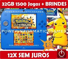 Nintendo 2ds 1500 Jogos Roda 3ds & Ds Varias Cores + 32gb