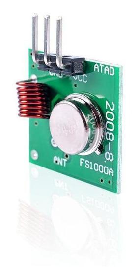 Módulo Rf Transmissor Receptor 433mhz Am Arduíno Pic Avr Pc