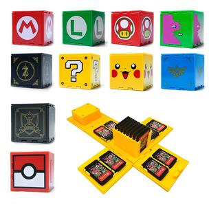 Estuche Para Juegos De Nintendo Switch Cubo