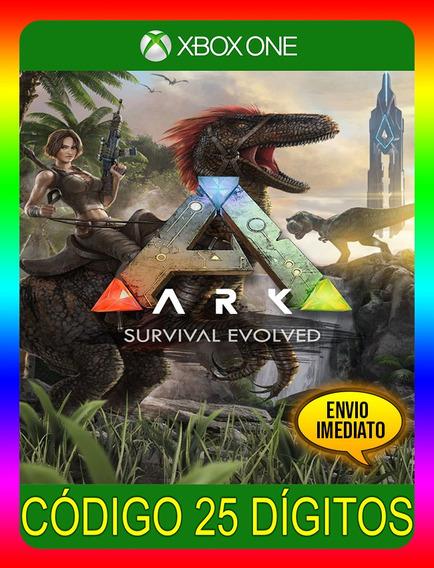 Ark Survival Evolved Xbox One - 25 Dígitos (envio Já)