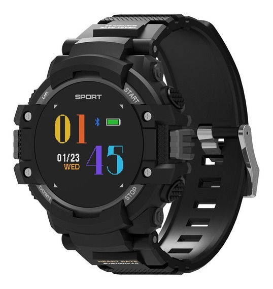 No .1 F7 Inteligente Reloj Monitor Gps Temperatura Tarifa Co