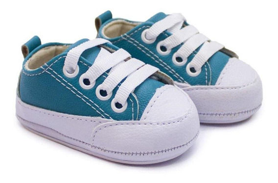 Tênis Infantil Bebê Menino Cadarço Conforto Dia A Dia Casual