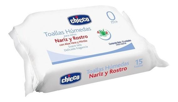 Toallas Húmedas Chicco Rostro Y Nariz Caja 36 Paq