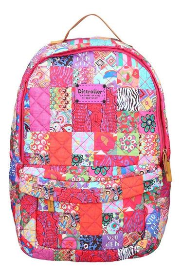 Back Pack Rosa Virgencita