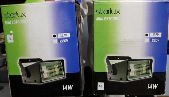 Mini Estrobo Com Lâmpada - Starlux