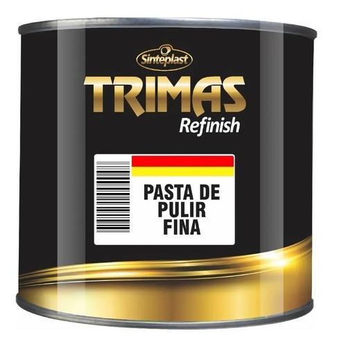 Imagen 1 de 2 de Pasta Pulir Fina 500 G Trimas Sinteplast