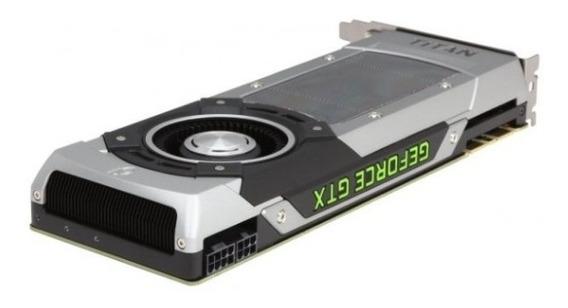 Placa De Vídeo Vga Evga Geforce Gtx Titan Black 6gb Ddr5 384