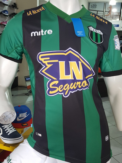 Camiseta Nueva Chicago Mitre Original Verde