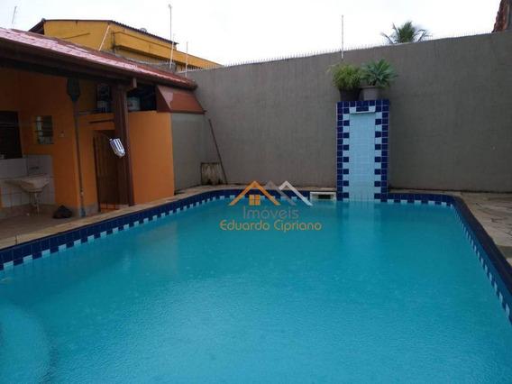Casa Com 4 Dormitórios À Venda, 216 M² Por R$ 620.000,00 - Indaiá - Caraguatatuba/sp - Ca0398