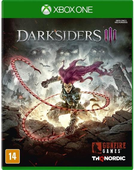 Jogo Darksiders 3 Xbox One Midia Fisica Original Promoção Br