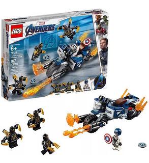 Lego Avengers Capitan America Outriders Attack - 76123