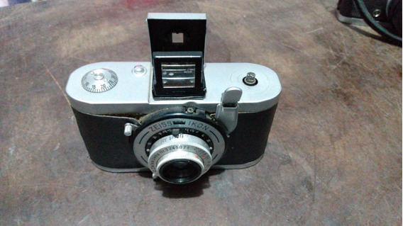 Maquina Fotografica Antiga Zeiss Ikon Tenax (no Estado)