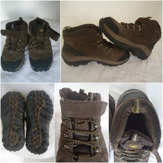 Zapatos Rock Land Originales Talla 34