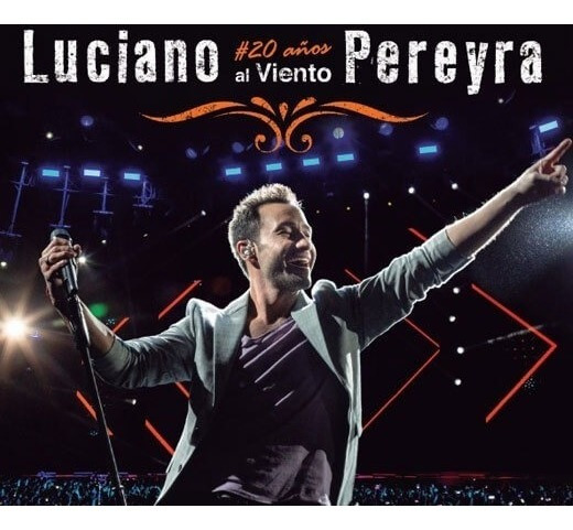 Luciano Pereyra 20 Años Al Viento Cd + Dvd Nuevo 2019