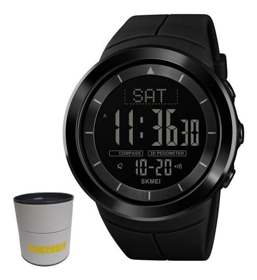 Relógio Masculino Digital Skmei 1403 C/ Pedômetro - Original