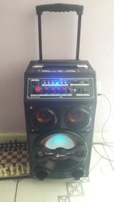 Caixa Amplificadora Multiuso Com Karaokê E Bluetooth, Ca-309