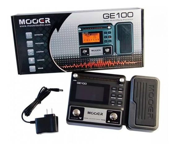 Pedaleira Mooe Multi-efeitos Para Guitarra Ge100 / Ge 100