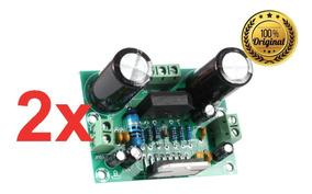 2 Amplificador Potência De Áudio Tda7293 100w Placa Montada