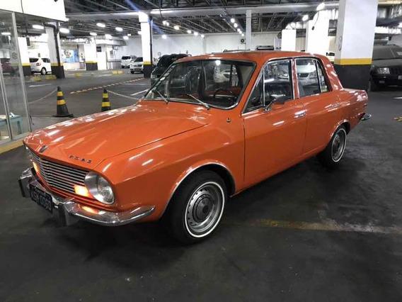 Ford Corcel 1 1970 Luxo 4 Portas Placa Preta