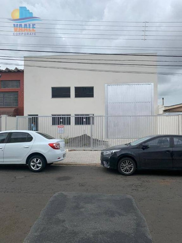 Imagem 1 de 17 de Barracão Para Alugar, 300 M² Por R$ 4.800,00/mês - Jardim Do Lago - Campinas/sp - Ba0250
