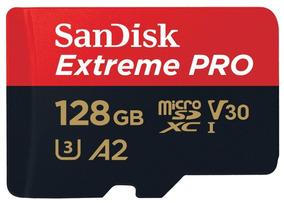 Memoria Gopro Hero 6 7 Micro Sd Sandisk Extreme Pro 128gb A2