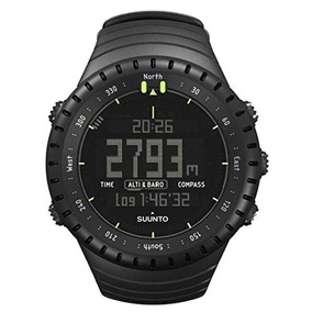 Relógio Suunto Core Classic All Black Military Bateria Extra