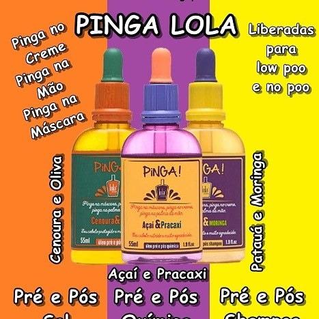 Óleos Liberados Pinga Lola Cosmectic Nutrición Hidratacion