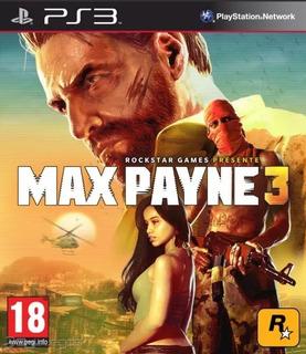 Max Payne 3 Ps3 - Play Mexico