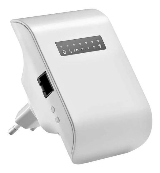 Repetidor De Sinal Wi-fi 750ac 300mbps Amplificador Re054