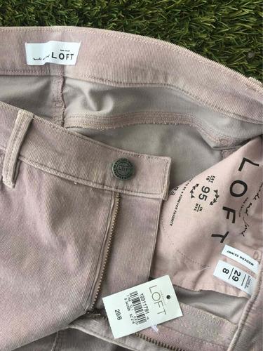 Pantalon De Pana Mujer Ann Taylor Loft Talla 29 Mercado Libre