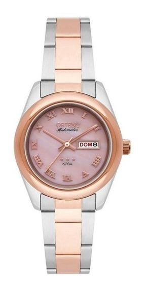 Relógio Orient Feminino 559tr009 R3sr Bicolor Automático