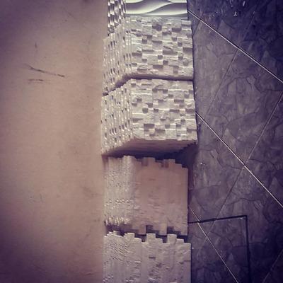 Plaster Wall Placas De Gesso3d